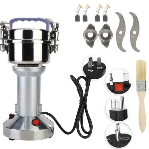 Electric Feed Mill Grinder Dry Wheat Cereals Coffee Rice Grain Milling Steel
