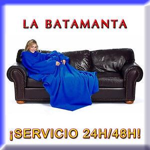 BATAMANTA PLUS COLORES A ELEGIR MANTA CON MANGAS PARA SOFA