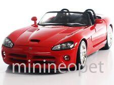 MAISTO 31632 2003 03 DODGE VIPER SRT-10 1/18 DIECAST RED