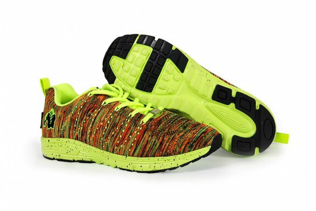 Gorilla Wear Brooklyn Knitted Mix- Sneakers - Neon Mix- Knitted New 8c0d83
