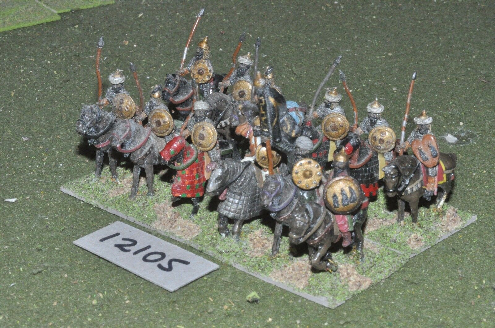 25mm medieval   saracen - cavalry 12 cavalry - cav (12105)