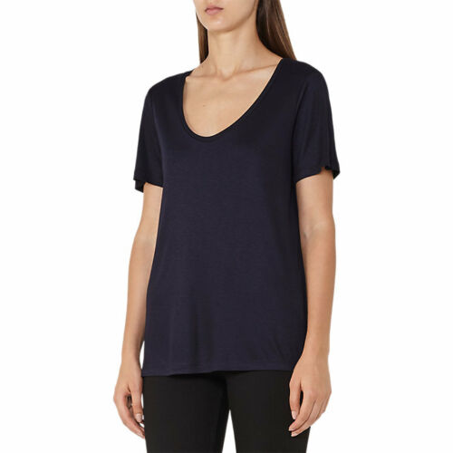 40/% OFFBnwt Reiss Ivy Scoop Neck T-shirt Top Night Navy Blue