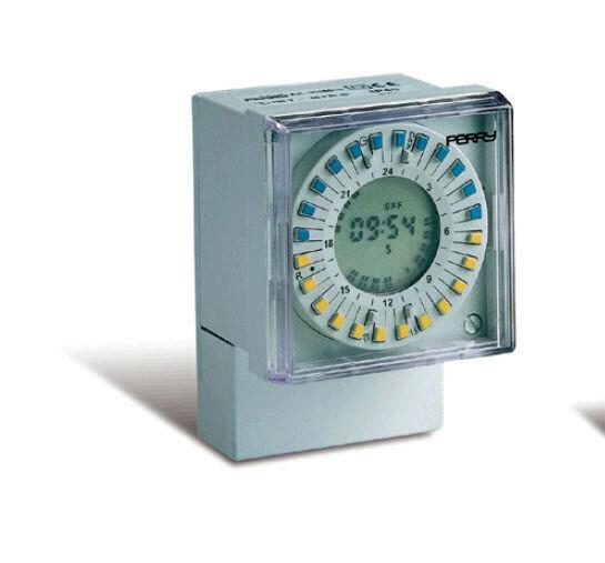 1IO 0012D15 PERRY Interruttore orario giornaliero digitale con display 72x72