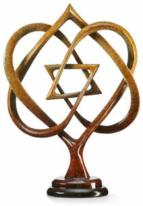 Honor - Star of David Imago Sculpture by Lawrence Oliver
