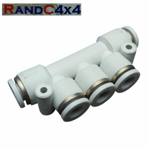 4 into 1 Wading Kit Breather Manifold to Snorkel Land Rover Defender /& Discovery