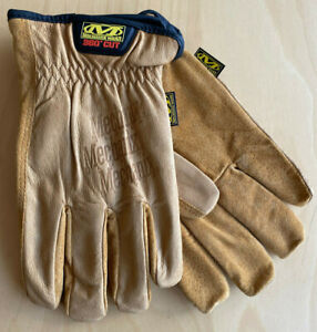Mechanix-Driver-Durahide-F9-360-Leder-Working-Gloves-Handschuhe-Schnittschutz