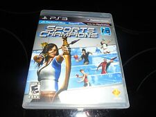 SPORTS CHAMPIONS {SONY PLAY STATION 3} 2010 GAME FREE SHIPPING!!!!