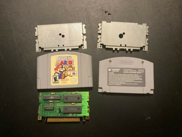 Nintendo 64 Paper Mario Authentic Cartridge Tested Working!