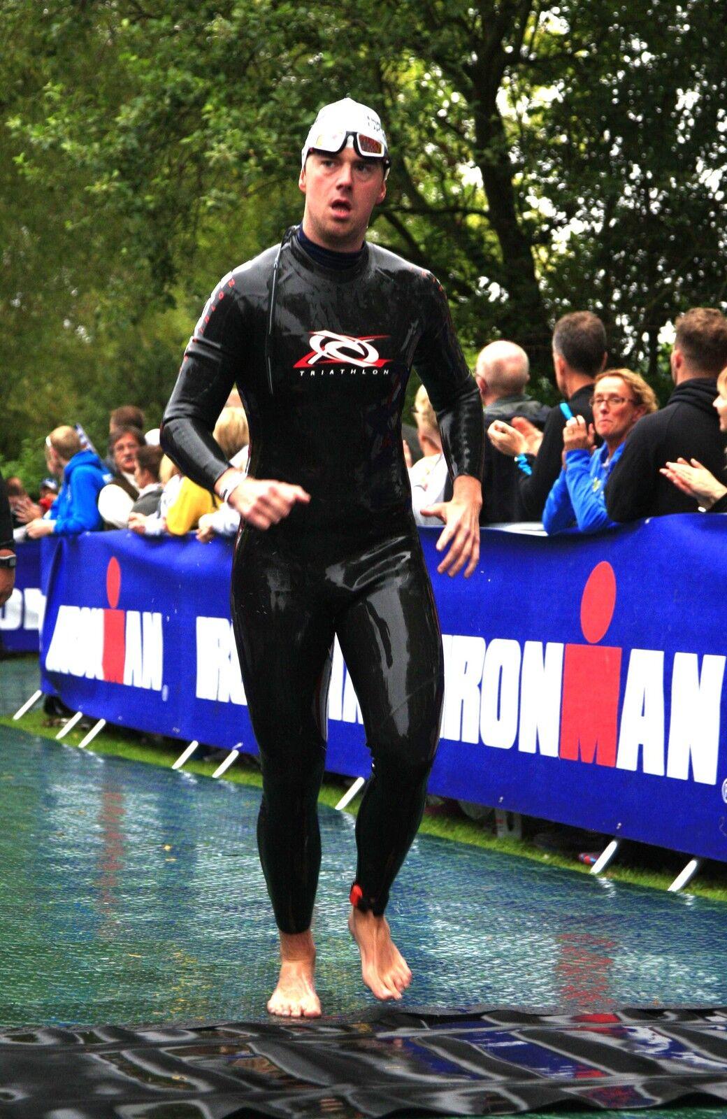 Triathlon Full 3 2mm Super Stretch Smooth Skin Neoprene Wetsuit. Ideal 4 Ironman
