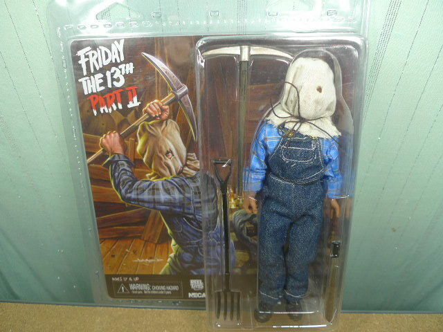 Neca Jason Voorhees Friday the 13th Part 2 II Clothed Action Figure Cult Classic