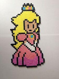 Details Over Pixel Art Perles A Repasser Princesse Peach