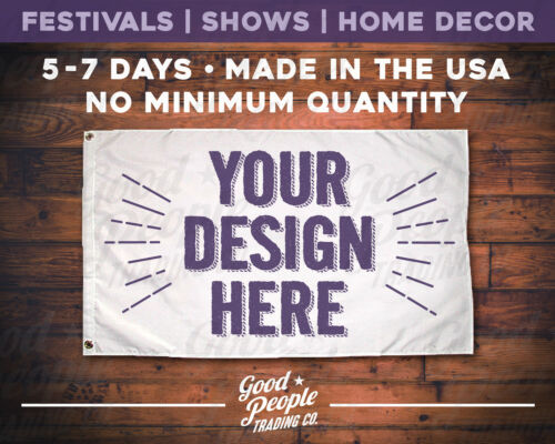 Weddings Festivals Custom Flags FASTMade in the USAHomes Vendors Boats