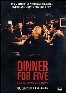 Brand-New-DVD-Dinner-For-Five-Season-1-2001-Jon-Favreau-Sean-Astin-Jennifer