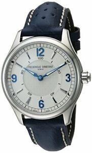 Frederique-Constant-Horological-Smartwatch-Quartz-Silver-Dial-Men-039-s-Watch