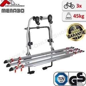 menabo steel bike 3 fahrradtr ger f r heckklappe heckklappentr ger drei r der ebay. Black Bedroom Furniture Sets. Home Design Ideas