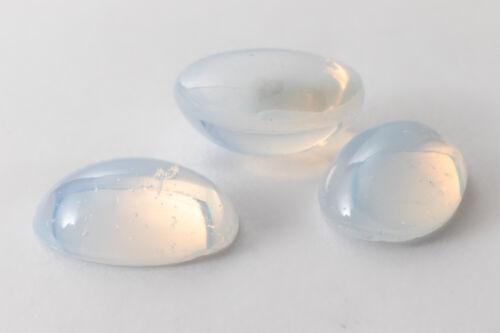 Vintage 10mm x 14mm Opal White Oval Cabochon #XS19-C-1