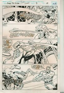 Hulk-Over-The-Edge-Orig-Comic-Art-Page-3pg18-Marvel-1996-Jones-Witherby-Signed