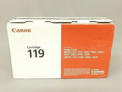 Free Shipping! 3479B001AA New GENUINE Canon CRG-119 Black Toner Cartridge