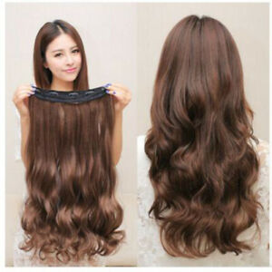 Real-Thick-Full-Head-Clip-In-Hair-Extensions-Long-Straight-Hair-Extensions-WIG