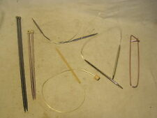 circular sewing needles needle sewing sew knitting knit lot Clover Takumi Bates
