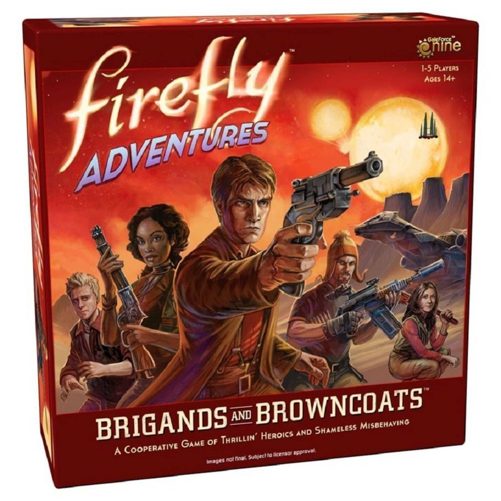 Firefly Adventures Brigands & Browncoats Cooperative Mission Based Board Gam