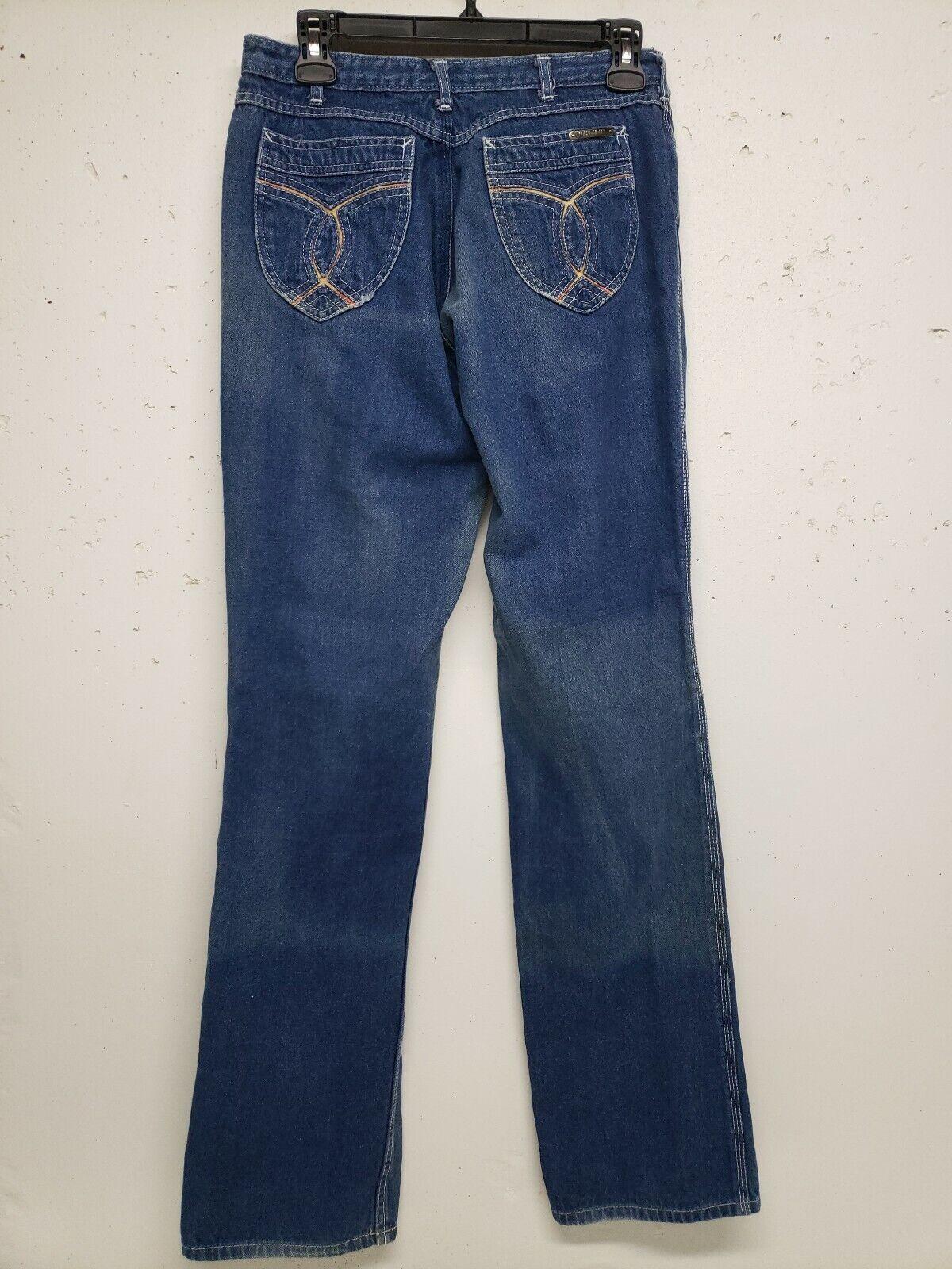 Vintage Nest N'est ce Pas 1970s Denim Jeans High … - image 12