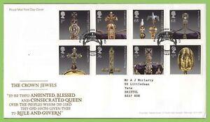 Conjunto-de-joyas-de-Graham-Brown-2011-la-corona-en-Royal-Mail-primer-dia-cubierta-Londres-CE