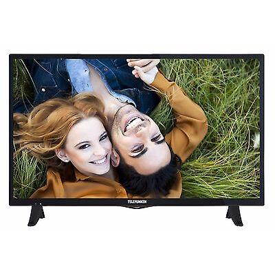 Telefunken D32F289X4 LED Fernseher 32 Zoll 81cm TV Full HD DVB-C/-T2/-S2 USB CI+