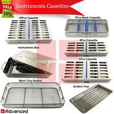 New Listingcomplete Range Dental Instruments Cassettes Sterilization Tools Box Scalers Tray