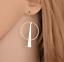 1-Pair-Elegant-Fashion-Women-Geometric-Gold-Circle-Dangle-Earrings-Jewelry thumbnail 3