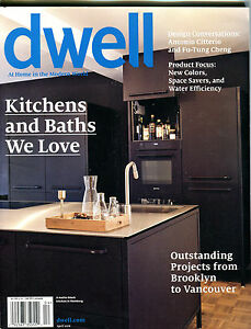 Image Is Loading Dwell Magazine April 2016 Kitchens And Baths We