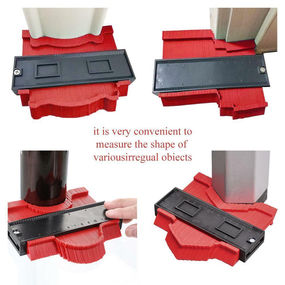 Contour Vervielfältigung Messgerät Profil Abmessen Werkzeug Mark Form Made