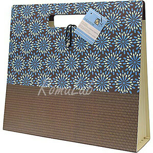 CARTELLINA RIGIDA  IN CARTONE DCWV linea Meadow 33 x 29,21 cm CON 7 SCOMPARTI