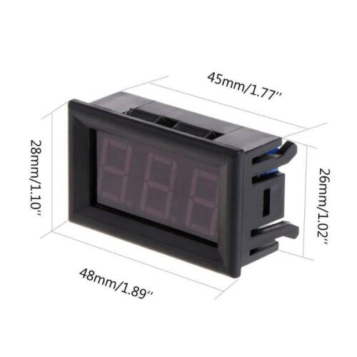 Digitale LED-50 ~ 110 ° C Thermometer DC 5-12V Autotemperaturanzeige