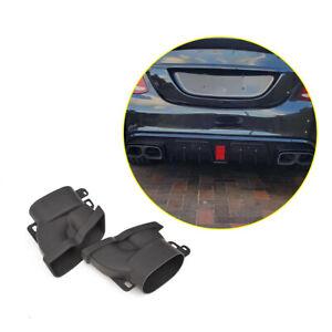 2PCS-Exhaust-Pipes-Tail-Muffler-Tips-Fit-For-Mercedes-Benz-E-Class-W213-E43-E63