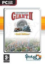 Industry Giant 2 Gold Edition PC/juego/Video/computadora/transporte/Estrategia/Windows