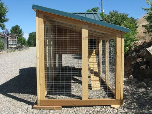 emailed version only 4 X 4 Kennel Coop Chicken coop plan /& material list
