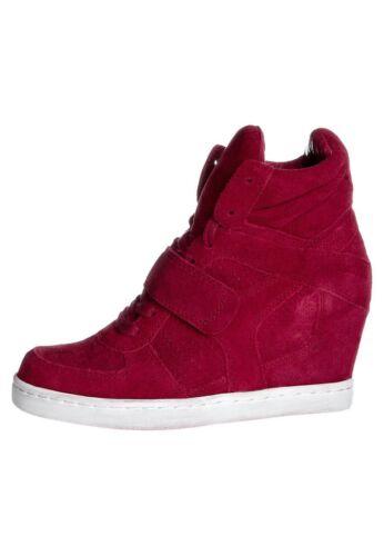 Rosso In Sneakers Camoscio Zeppa Art Con Cool Ash wXdt77