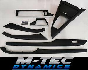 BMW-F06-Gran-Coupe-Black-3D-Carbon-amp-Silver-Interior-Trim-Set-Door-Dash-F12-F13