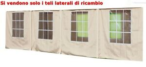 set-4-pz-teli-laterali-ecru-per-gazebo-big-royal-YF5005S-4X10-mt-telone-giardino