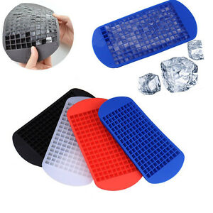 160 mini small ice cube tray frozen cubes trays silicone ice mold kitchen tool ebay. Black Bedroom Furniture Sets. Home Design Ideas