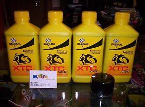 TAGLIANDO-4-LT-OLIO-BARDAHL-XTC-C60-10W50-FILTRO-HONDA-600-CBR-RR-03-12
