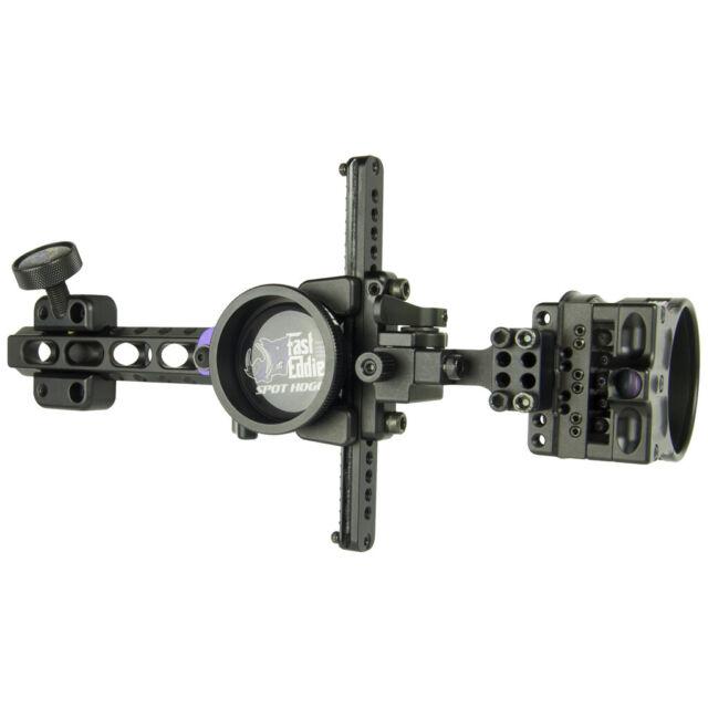 New 2019 Spot Hogg Fast Eddie XL .019 Double Pin Long Bar Bow Archery Sight RH