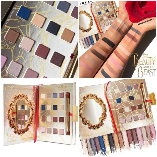 2018 Newest Lorac Disney Beauty and the Beast PRO Eye Shadow Palette Make-Up Ang