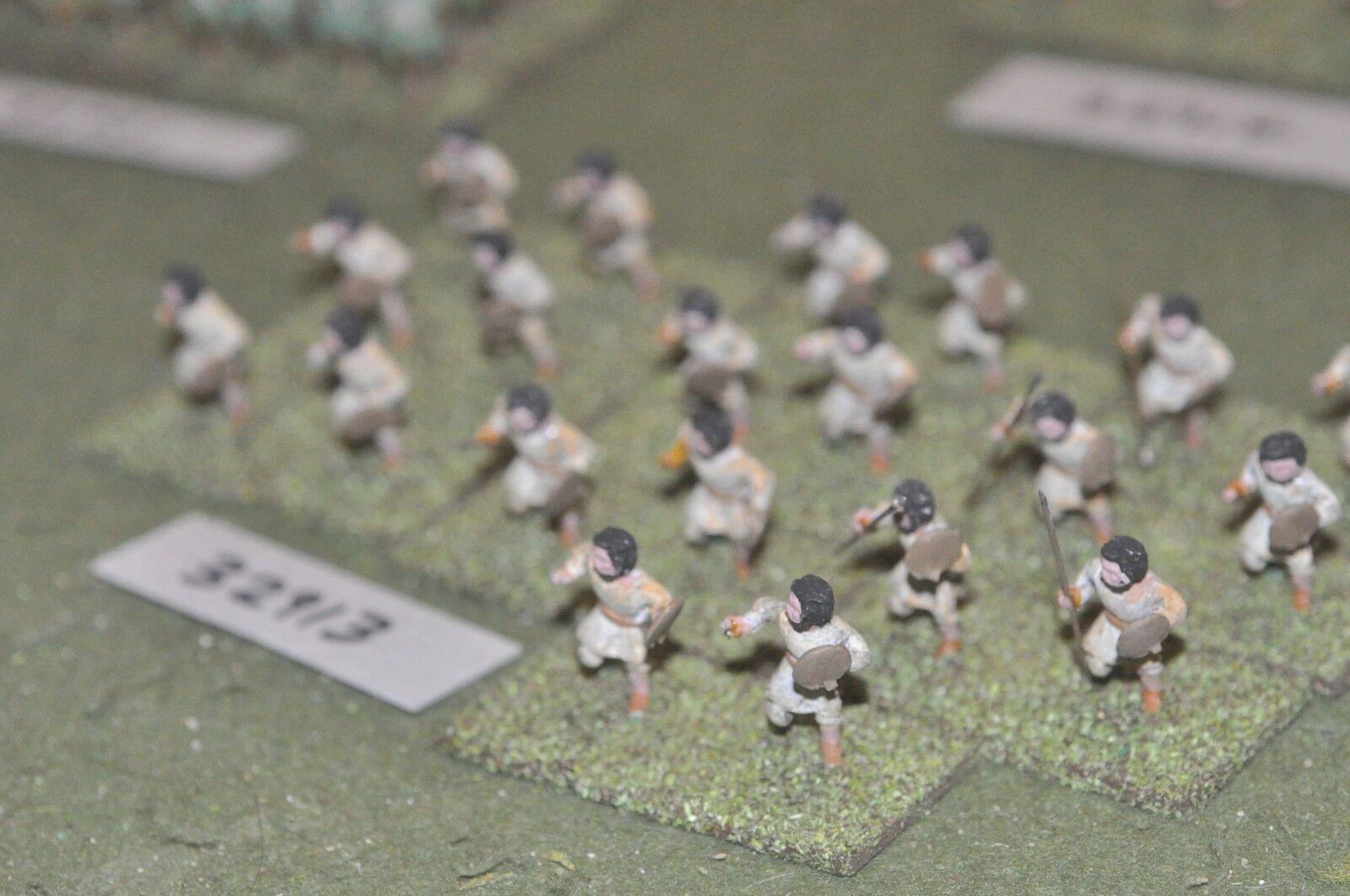 25mm roman era   roman - light infantry 20 figures - inf (32913)
