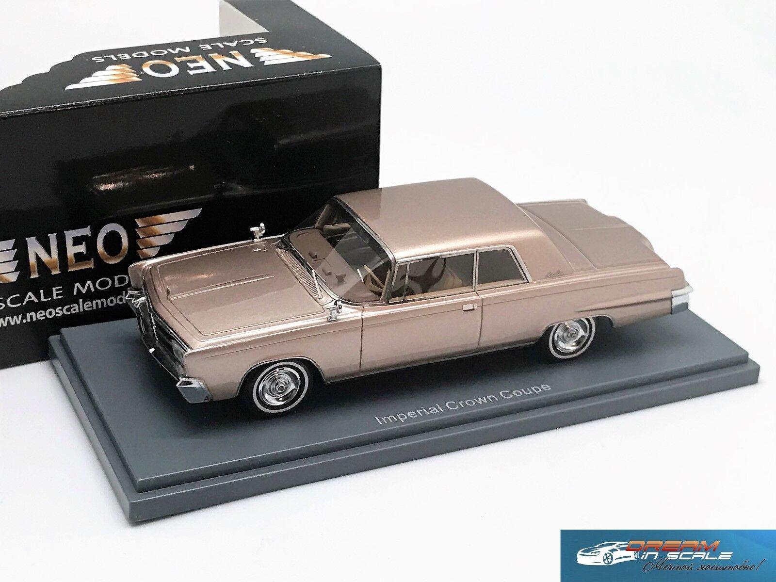 primera reputación de los clientes primero Imperial corona Corona de 2 2 2 puertas hardtop coupe Beige se reunió 1965 Neo 44695 1 43  mejor servicio