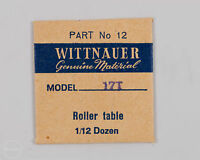 Wittnauer Genuine Material Part 12 Roller Table For 17t