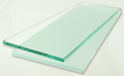 Glasboden Glasscheibe - ohne Halter - für Glasregal Glasregale Regal Vitrine