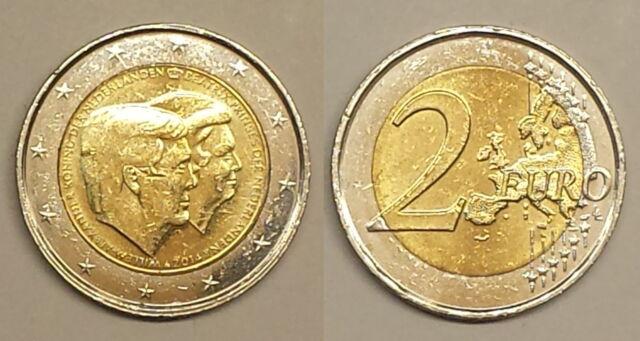 Niederlande 2 Euro 2014, 2. Doppelportrait zum Thronwechsel *1866*