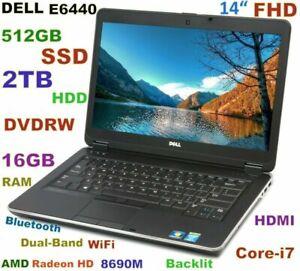 3D-Design-DELL-E6440-i7-3-0GHz-14-034-FHD-512GB-SSD-2TB-DVDRW-16GB-HDMI-BT